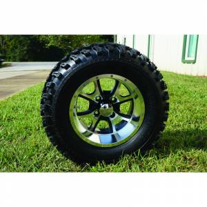 Wheels/Tires - Wheel Covers - 12 inch Wheels - 12 x 7.5 Predator Wheel and Tire Set