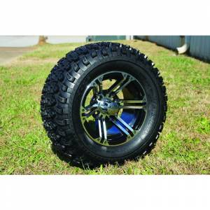 "Wheels/Tires - Wheel Covers - 12 inch Wheels - 12"" x 7.5"" Terminator Wheel and Tire Set"