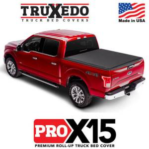 Truck Accessories - Tonneau Covers - Truxedo - Pro X15 Tonneau