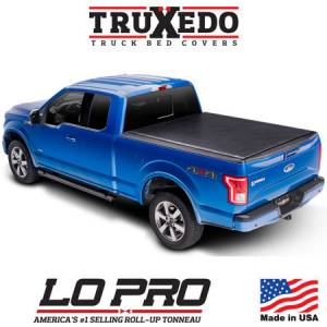 Truck Accessories - Tonneau Covers - Truxedo - Lo Pro QT Tonneau