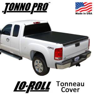 Truck Accessories - Tonneau Covers - TonnoPro - Tonno Pro Lo-Roll Tonneau Cover