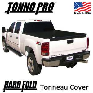 Truck Accessories - Tonneau Covers - TonnoPro - Tonno Pro Hard Fold Tonneau Cover