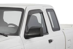 Exterior Accessories - Vent Visors / Rainguards - Stampede - Snap-Inz Sidewind Deflectors