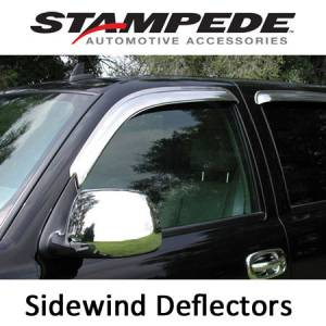 Exterior Accessories - Vent Visors / Rainguards - Stampede - Sidewind Deflectors - Chrome