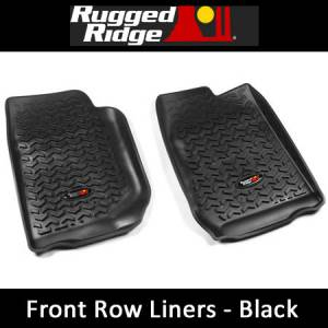 RuggedRidge - Rugged Ridge All Terrain Floor Liners