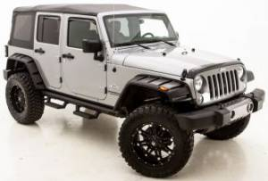 Exterior Accessories - Fender Flares - Lund - Lund RX-Jeep Rivet Style Fender Flares
