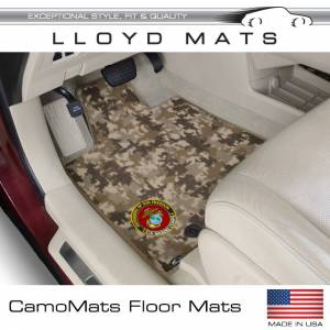 Floor Mats / Liners - Carpet Floor Mats - Lloyd Mats - Camo Custom Fit Floor Mats - Lloyd Mats