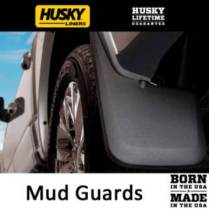 Exterior Accessories - Mud Guards - HuskyLiners - Husky Liners Mud Guards