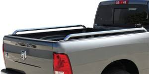 Truck Accessories - Truck Bed Accessories - GoRhino - Go Rhino Universal Stake Pocket Bed Rails