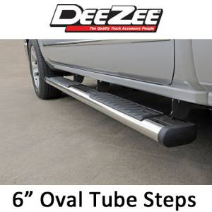 "DeeZee - Dee Zee 6"" Oval Side Steps"