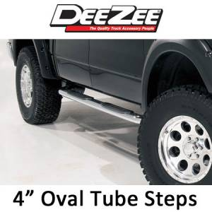"DeeZee - Dee Zee 4"" Oval Side Steps"
