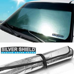 DashDesigns - Dash Designs Silver Shield Custom Solar Shade