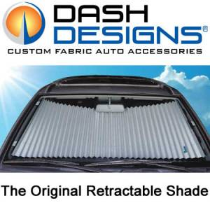 DashDesigns - Dash Designs Original Retractable Windshield Shades