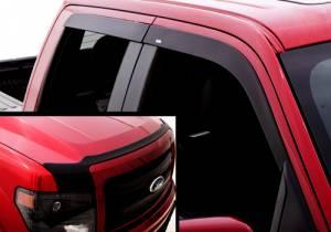 Exterior Accessories - Hood Shields - AVS - AVS Hood Shield Combo Kits