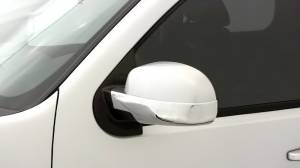 Chrome Trim - Mirror Covers/Accents - AVS - AVS Chrome Mirror Covers