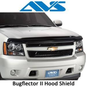 Exterior Accessories - Hood Shields - AVS - AVS Bugflector II Hood Shields