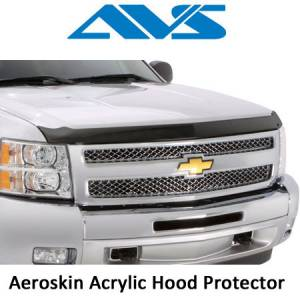 Exterior Accessories - Hood Shields - AVS - AVS Aeroskins Acrylic Hood Shields