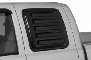 Exterior Accessories - Vent Visors / Rainguards - AVS - AVS Aeroshade Louvered Side Window Covers