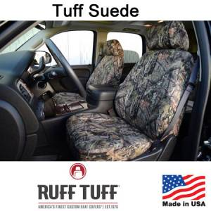 Seat Covers - Leatherette / Suede Seat Covers - RuffTuff - Tuff Suede Seat Covers