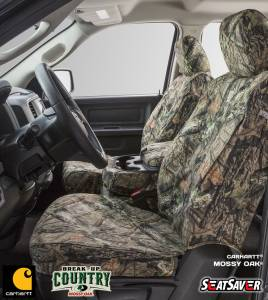 Seat Accessories - Seat Covers - Carhartt - Carhartt Mossy Oak SeatSaver Seat Covers