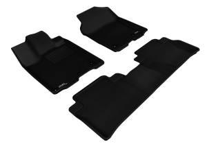 Floor Mats / Liners - Floor Liners - 3D MAXpider - 3D MAXpider ACURA RDX 2013-2018 KAGU BLACK R1 R2