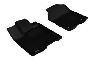 Floor Mats / Liners - Floor Liners - 3D MAXpider - 3D MAXpider ACURA RDX 2013-2018 KAGU BLACK R1