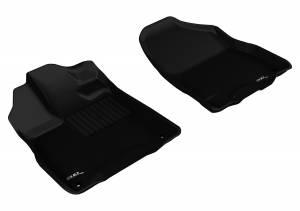 Floor Mats / Liners - Floor Liners - 3D MAXpider - 3D MAXpider ACURA MDX 2014-2020 KAGU BLACK R1