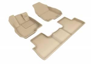 Floor Mats / Liners - Floor Liners - 3D MAXpider - 3D MAXpider ACURA RDX 2019-2020 KAGU TAN R1 R2