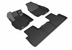 Floor Mats / Liners - Floor Liners - 3D MAXpider - 3D MAXpider ACURA RDX 2019-2020 KAGU BLACK R1 R2