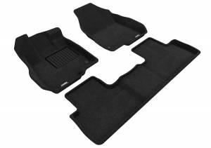 Floor Mats / Liners - Floor Mats - All Weather - 3D MAXpider - 3D MAXpider ACURA RDX 2019-2020 ELEGANT BLACK R1 R2