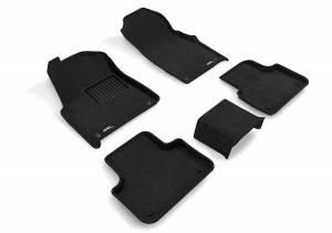 Floor Mats / Liners - Floor Mats - All Weather - 3D MAXpider - 3D MAXpider AUDI Q7 2017-2019/ Q8 2019-2020 ELEGANT BLACK R1 R2