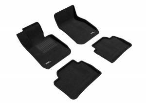 Floor Mats / Liners - Floor Mats - All Weather - 3D MAXpider - 3D MAXpider BMW 3 SERIES SEDAN SDRIVE 2012-2018 ELEGANT BLACK R1 R2
