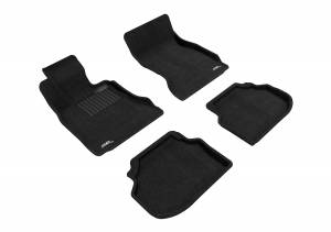 Floor Mats / Liners - Floor Mats - All Weather - 3D MAXpider - 3D MAXpider BMW 5 SERIES SEDAN SDRIVE 2011-2014 ELEGANT BLACK R1 R2
