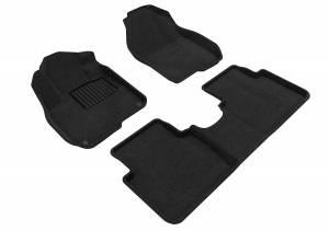 Floor Mats / Liners - Floor Mats - All Weather - 3D MAXpider - 3D MAXpider HONDA CR-V 2017-2019 ELEGANT BLACK R1 R2