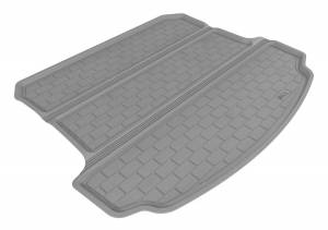 Floor Mats / Liners - Cargo Liners/Mats - 3D MAXpider - 3D MAXpider 9293-02 ACURA MDX 2007-2013 KAGU GRAY BEHIND 2ND ROW STOWABLE CARGO LINER