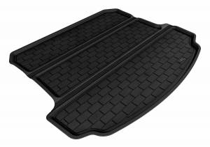 Floor Mats / Liners - Cargo Liners/Mats - 3D MAXpider - 3D MAXpider 9324-01 ACURA MDX 2007-2013 KAGU BLACK BEHIND 2ND ROW STOWABLE CARGO LINER