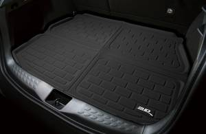 3D MAXpider - 3D MAXpider 9324-01 ACURA MDX 2007-2013 KAGU BLACK BEHIND 2ND ROW STOWABLE CARGO LINER - Image 2