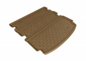 Cargo Liners/Mats - Cargo Liner (floor liner with side lips) - 3D MAXpider - 3D MAXpider L1AC00312201 ACURA MDX 2014-2020 KAGU TAN BEHIND 2ND ROW STOWABLE CARGO LINER