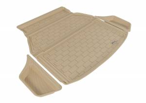 Cargo Liners/Mats - Cargo Liner (floor liner with side lips) - 3D MAXpider - 3D MAXpider L1AC00622201 ACURA TLX 2015-2020 KAGU TAN STOWABLE CARGO LINER (3PCS)