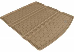Cargo Liners/Mats - Cargo Liner (floor liner with side lips) - 3D MAXpider - 3D MAXpider L1AC01201509 AUDI A4/ S4/ RS4 SEDAN 2009-2016 KAGU TAN STOWABLE CARGO LINER