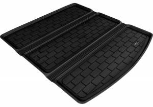 Cargo Liners/Mats - Cargo Liner (floor liner with side lips) - 3D MAXpider - 3D MAXpider L1AC01221501 AUDI A4/ S4/ RS4 SEDAN 2009-2016 KAGU BLACK STOWABLE CARGO LINER
