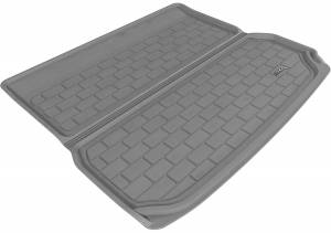 Cargo Liners/Mats - Cargo Liner (floor liner with side lips) - 3D MAXpider - 3D MAXpider L1AD00512202 AUDI Q5 2009-2017/ SQ5 2013-2017 KAGU GRAY STOWABLE CARGO LINER