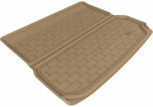Cargo Liners/Mats - Cargo Liner (floor liner with side lips) - 3D MAXpider - 3D MAXpider L1AD00512209 AUDI Q5 2009-2017/ SQ5 2013-2017 KAGU TAN STOWABLE CARGO LINER