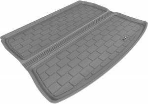 Cargo Liners/Mats - Cargo Liner (floor liner with side lips) - 3D MAXpider - 3D MAXpider L1AD00522209 AUDI A3 2006-2013 KAGU GRAY STOWABLE CARGO LINER