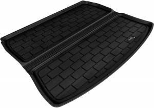 Cargo Liners/Mats - Cargo Liner (floor liner with side lips) - 3D MAXpider - 3D MAXpider L1AD00601502 AUDI A3 2006-2013 KAGU BLACK STOWABLE CARGO LINER