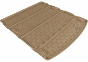 Floor Mats / Liners - Cargo Liners/Mats - 3D MAXpider - 3D MAXpider L1AD00901501 AUDI A6 SEDAN 2012-2018/ S6 SEDAN 2013-2018 KAGU TAN STOWABLE CARGO LINER