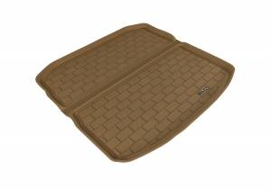 Cargo Liners/Mats - Cargo Liner (floor liner with side lips) - 3D MAXpider - 3D MAXpider AUDI A3/ S3 2015-2020 KAGU TAN STOWABLE CARGO LINER