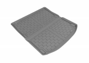 Cargo Liners/Mats - Cargo Liner (floor liner with side lips) - 3D MAXpider - 3D MAXpider L1AD03321501 AUDI A4 2017-2019/ S4-2018-2019 KAGU GRAY CROSS FOLD CARGO LINER