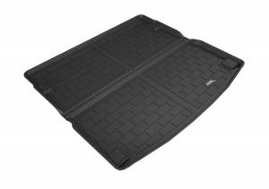 Cargo Liners/Mats - Cargo Liner (floor liner with side lips) - 3D MAXpider - 3D MAXpider L1AD03911509 AUDI Q5 2018-2020 KAGU BLACK CROSS FOLD CARGO LINER