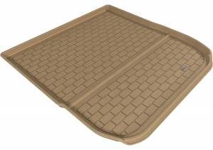 Floor Mats / Liners - Cargo Liners/Mats - 3D MAXpider - 3D MAXpider L1AD04131502 BUICK ENCLAVE 2008-2017/ CHEVROLET TRAVERSE 2009-2017 KAGU TAN BEHIND 2ND ROW CARGO LINER